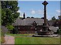 SJ2285 : Caldy Village Memorial by J Scott