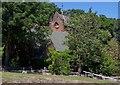 SJ2285 : Caldy Church by J Scott