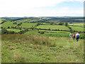 SX6978 : Fields near Blackaton by Stephen Craven