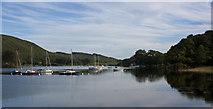 SD2890 : Boats moored at Park Nab by Ian Greig
