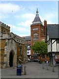 SP7387 : Church Square by Alan Murray-Rust