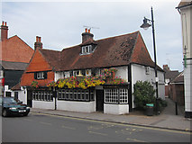 TQ1649 : The Kings Arms, Dorking by Oast House Archive