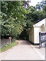 TM2247 : Footpath to The Street, Martlesham by Adrian Cable
