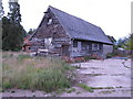 TM1434 : Patched up barn by Roger Jones