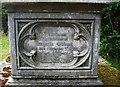 SO8674 : Inscription for Benjamin Gibbons (senior), St. Mary's Churchyard, Stone by P L Chadwick