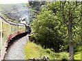 NZ8302 : North Yorkshire Moors Railway, Crossing Eller Beck by David Dixon