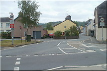 SN7634 : Northern end of Stone Street, Llandovery by Jaggery