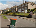 ST2887 : Wheely bin day, Hillside Crescent, Newport by Jaggery