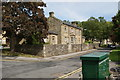 SE1565 : The former railway station building at Pateley Bridge (1) by John Webb