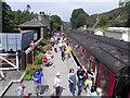 NZ8301 : Goathland Station by David Dixon