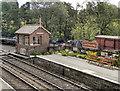 NZ8301 : Goathland Signal Box by David Dixon