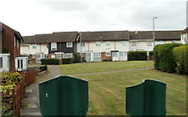 ST3487 : Houses in the NE corner of Moorland Park, Newport by Jaggery