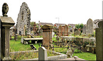 J5074 : Ruined church, Movilla Abbey, Newtownards (1) by Albert Bridge