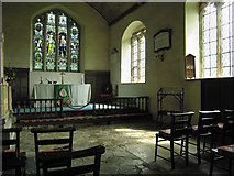 SO4465 : Inside St.Michael & All Angels church (2) by Dave Croker