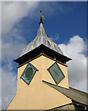 SO4465 : St.Michael & All Angels church tower by Dave Croker