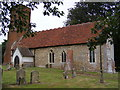 TM2559 : St.Andrew & Eustachius Church, Hoo by Adrian Cable