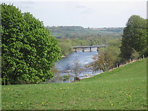 NZ1164 : River Tyne and Wylam Bridge by Les Hull