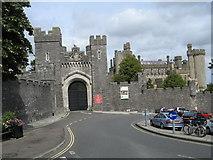 TQ0107 : Arundel Castle Gatehouse by Josie Campbell