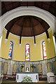 O2838 : Altar, Church of the Assumption, Howth, Ireland by Christine Matthews