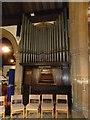 TQ2636 : St. John the Baptist, Crawley: organ by Basher Eyre