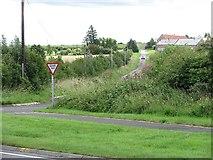 NU0541 : Minor road, Mount Hooley by Richard Webb