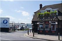 TQ2672 : The Corner Pin, Summerstown by Bill Boaden