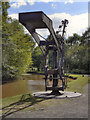 SJ6903 : Crane, Shropshire Canal by David Dixon