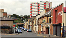 D4002 : The Station Road, Larne by Albert Bridge