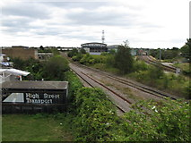 TQ2182 : Old Oak Sidings and London Overground by David Hawgood