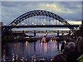 NZ2563 : 'Showboat', Newcastle Gateshead Bridges Festival by Andrew Curtis