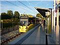SJ8293 : St Werburgh's Road Metrolink stop, Chorlton by Phil Champion