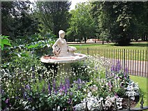 TQ2880 : Water feature in Hyde Park by David P Howard