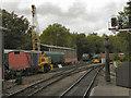 SE7984 : North Yorkshire Moors Railway, Pickering by David Dixon
