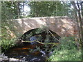 NO6196 : Stone road bridge, Burn of Cattie by Stanley Howe