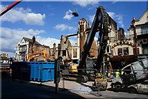 TQ3166 : Croydon Riots - demolition by Peter Trimming