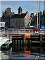 HU4741 : Lerwick: the Old Tolbooth from across the harbour by Chris Downer