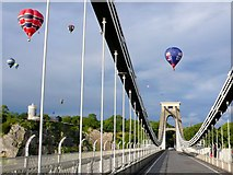 ST5673 : Clifton Suspension Bridge by Nigel Mykura