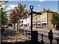 TQ4370 : Green Chain Walk on Chislehurst High Street by David Anstiss