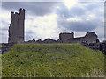 SE6183 : Helmsley Castle by David Dixon