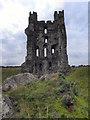 SE6183 : Helmsley Castle East Tower by David Dixon