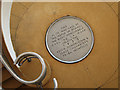 TQ7407 : Plaque at the De La Warr Pavilion by Oast House Archive