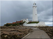 NZ3575 : Whitley Bay: St. Mary's Island by Chris Downer
