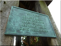 SU5846 : Dummer - All Saints Church: 1939- 1945 memorial by Basher Eyre