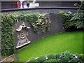 TQ3281 : Sunken Garden, Museum of London, Barbican by PAUL FARMER