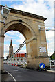 SU8586 : Suspension Bridge, Marlow, Buckinghamshire by Christine Matthews