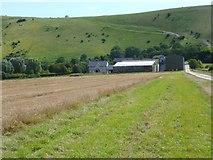 TQ2411 : Perching Manor Farm by Shazz
