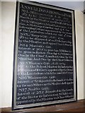 SU5846 : Dummer - All Saints Church: Benefactions Board by Basher Eyre