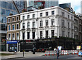 TQ3281 : 118-118A London Wall and 83 Moorgate by Stephen Richards
