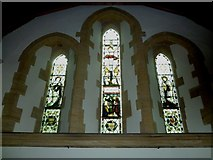 SU5846 : Dummer - All Saints Church: stained glass  window (iii) by Basher Eyre