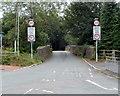 ST1688 : Weak bridge ahead, Old Bedwas Road, Bedwas by Jaggery